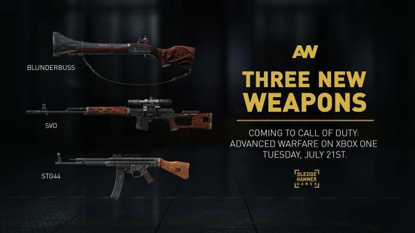 AdvancedWarfare3NewWeaps