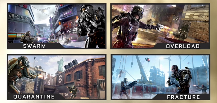 Call of Duty Advanced Warfare Reckoning Maps