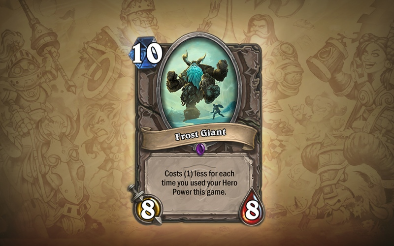 Frost Giant Hearthstone The Grand Tournament