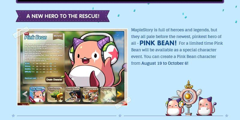 GMS Maplestory Pink Bean