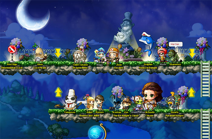 Maplestory GMS Party Quests