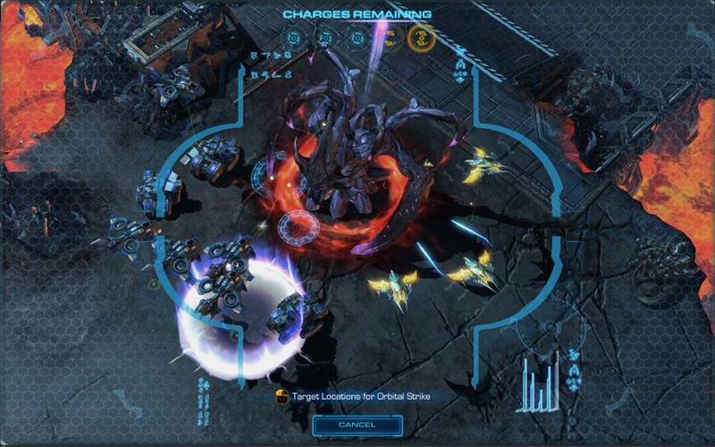Starcraft 2 Raynor Heroes of the Storm Orbital Strike