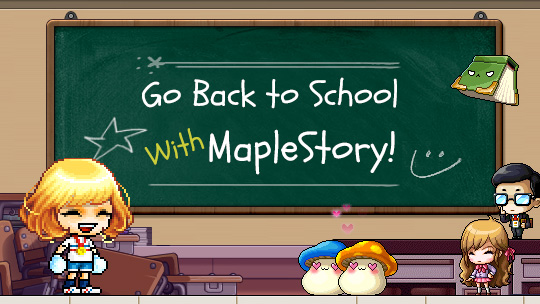 Maplestory 163 Go Back to School With Maplestory