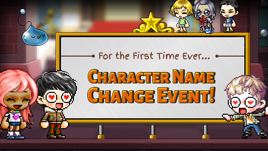 Character Name Change Maplestory