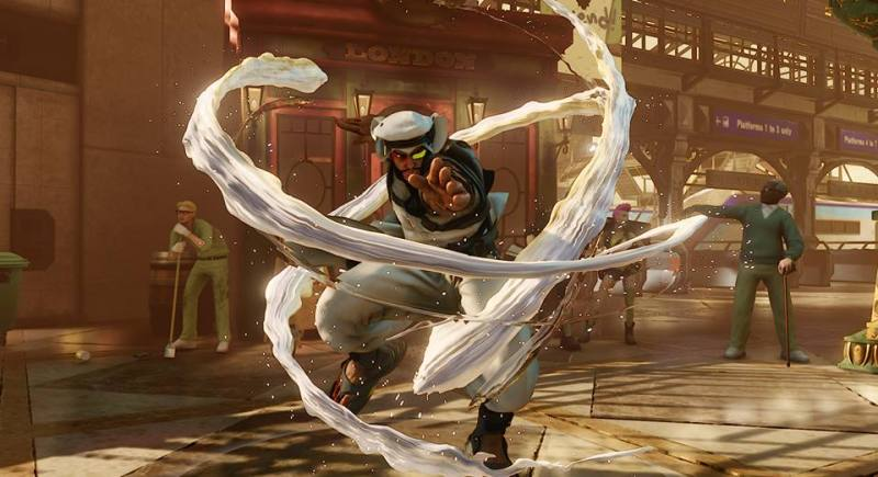 Street Fighter Rashid 2