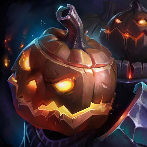 Heroes of the Storm Halloween Event Portrait