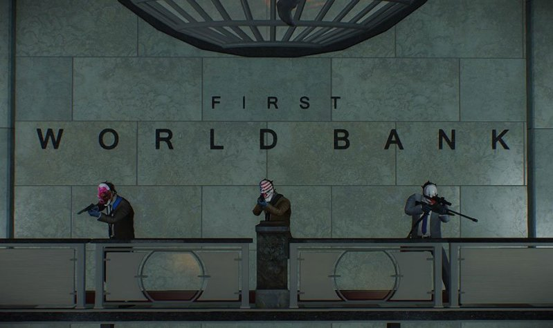 Payday 2 Crimefest Day 6 First World Bank 2.0