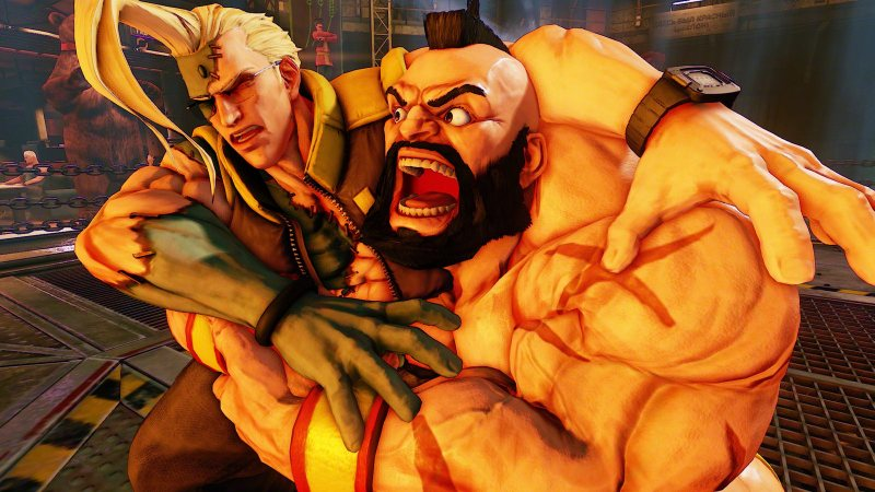 Street Fighter V Zangieffffff