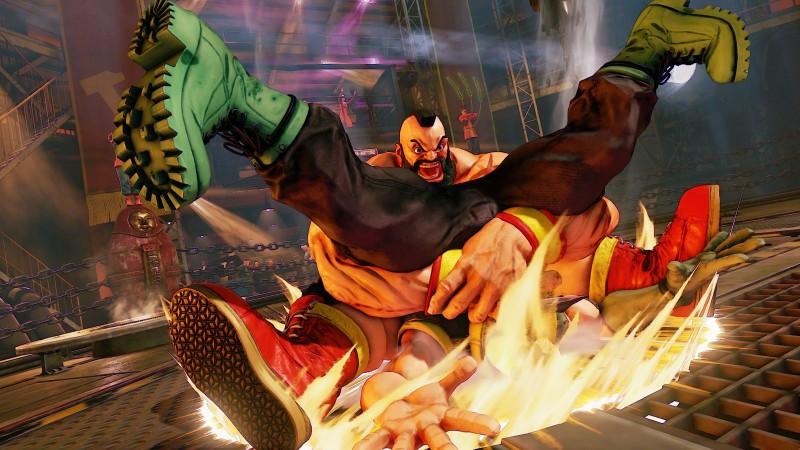 Zangrief Street Fighter V