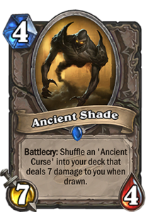 ancient shade hearthstone
