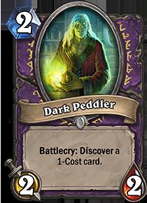 dark peddler hearthstone