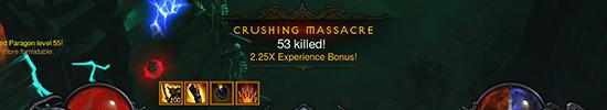 Diablo 3 EXp Bonus PTR
