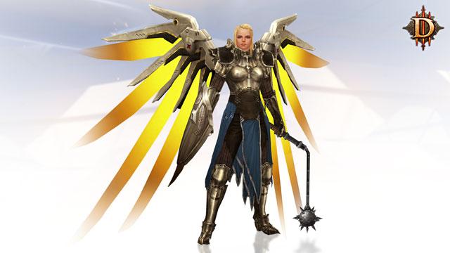 Diablo 3 Overwatch Origin Edition Mercy's Wings