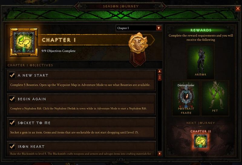 Diablo 3 Seasonal Journey Haedrig's Gift