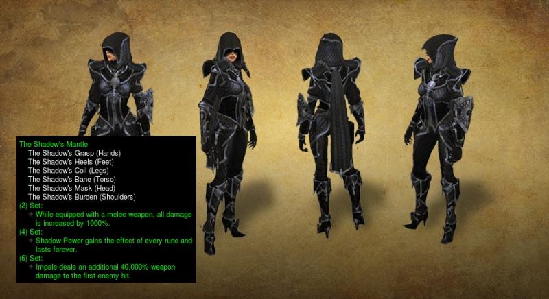 Diablo 3 Shadow Mantle Revmaped Set 2.4.0 PTR