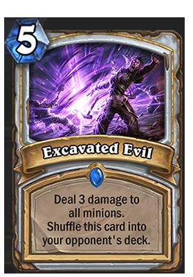 hearthstone excavated evil