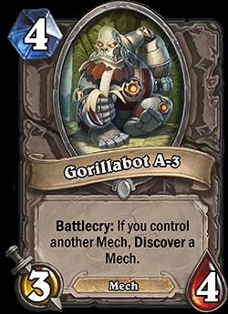 Hearthstone Gorillabot A-3