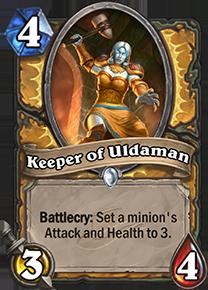 hearthstone keeper of uldaman