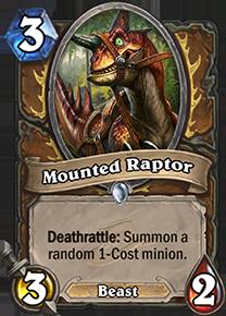 hearthstone mounted raptor