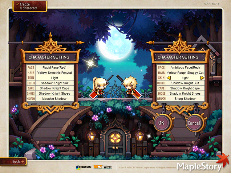 Maplestory Zero Creation Reboot