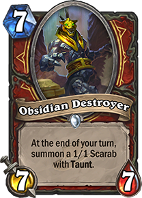 Obsidian Destroyer Hearthstone