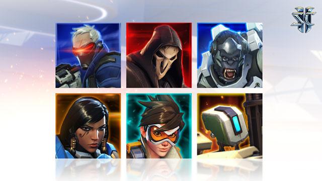 Overwatch Origin Edition Starcraft 2 Portraits