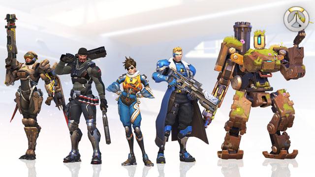 Overwatch Origin Hero Skins