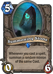 summoning stone hearthstone