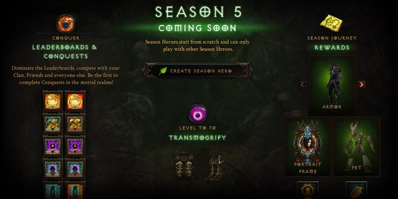 Season 5 Rewards