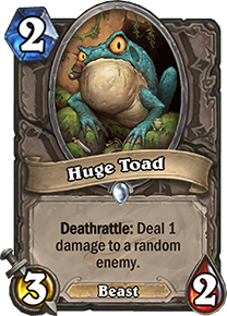 Hearthstone Huge Toad