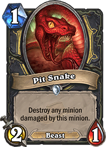 Hearthstone Pit Snake