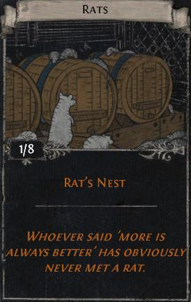 Rats - Drops in Arsenal Map