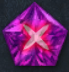 Pentagonal Amethyst