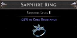 Winterheart Sapphire Ring