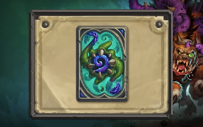 Clutch of Yogg-Saron Cardback