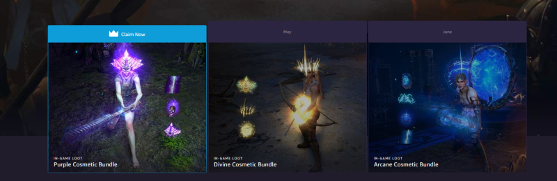 Path of Exile | Twitch Prime Cosmetic Bundles | iTzDarkVoid