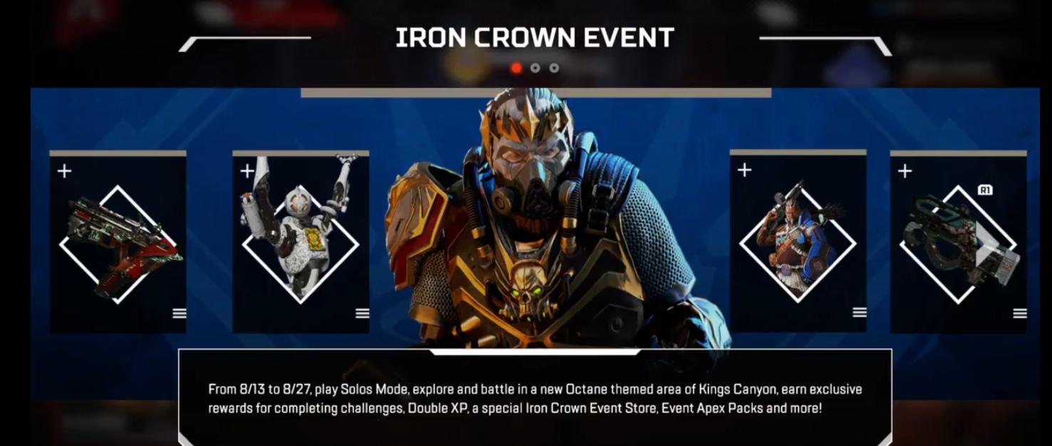 Apex Legends | Iron Crown Collection Event | iTzDarkVoid
