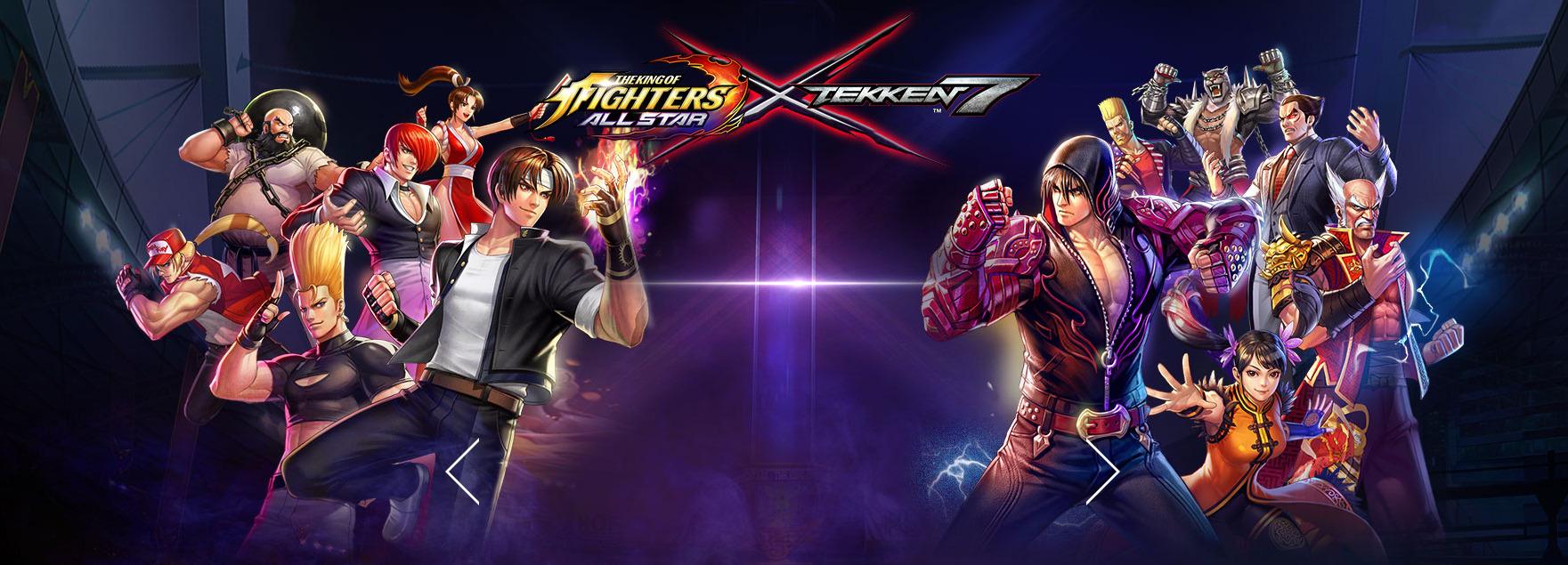 King Of Fighters Allstar Tekken 7 Collaboration Jin Kazama